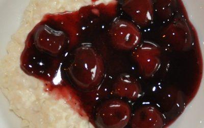 KIRSEBÆR SOVS  Danish cherry sauce