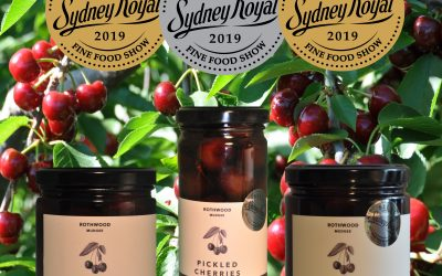 Rothwood Cherry Products scoop medals at Sydney Royal Fine Food Show